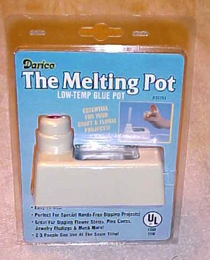 new glue melting pot stick feed low temp floral craft ebay